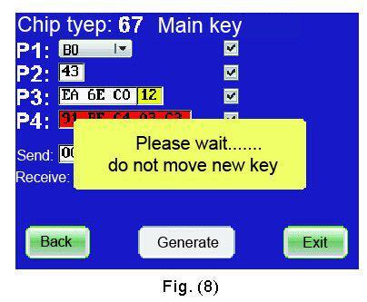 4C/4D/46/48 Code Reader Chip Transponder Auto Key Programmer